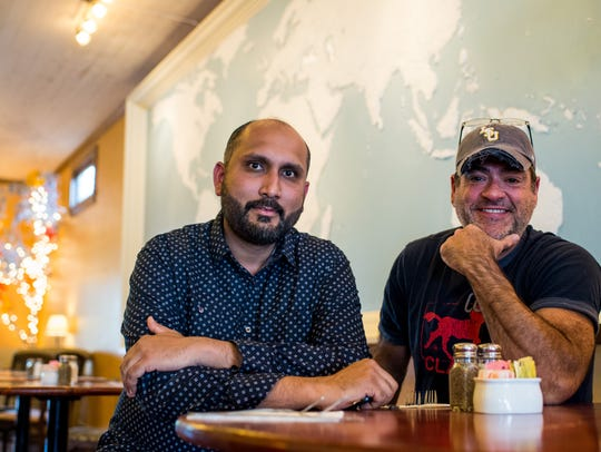 Sanjay Maharaj and Kevin Robin, partners and co-owners