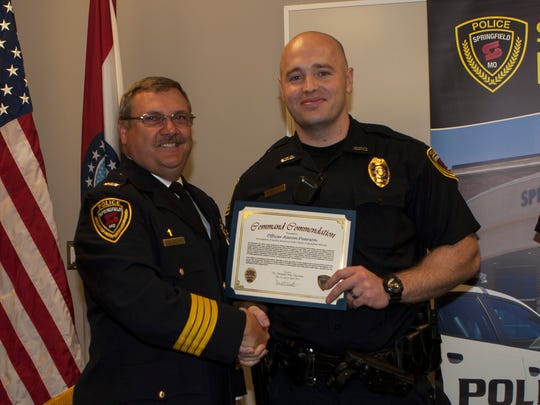 Springfield, Mo., police Officer Aaron Pearson, who