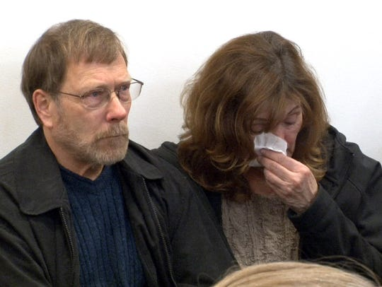 Sarah Stern's father Michael (left) is shown in State