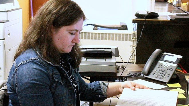 Bath native Emily Simms is the new Steuben County historian.