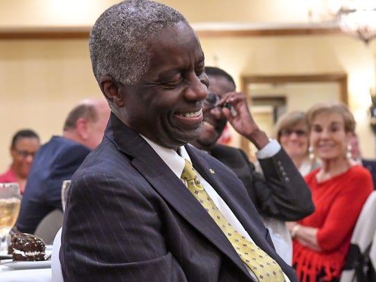 Mayor Terence Roberts is the 2017 Communitarian Award