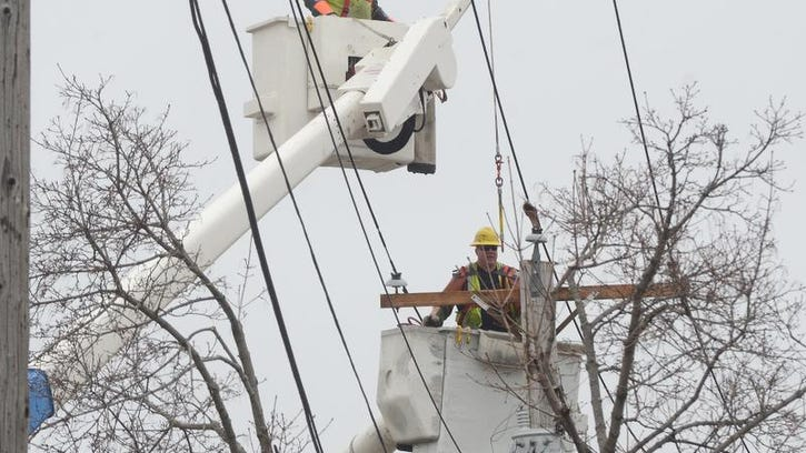 Most Lansing-area power restored