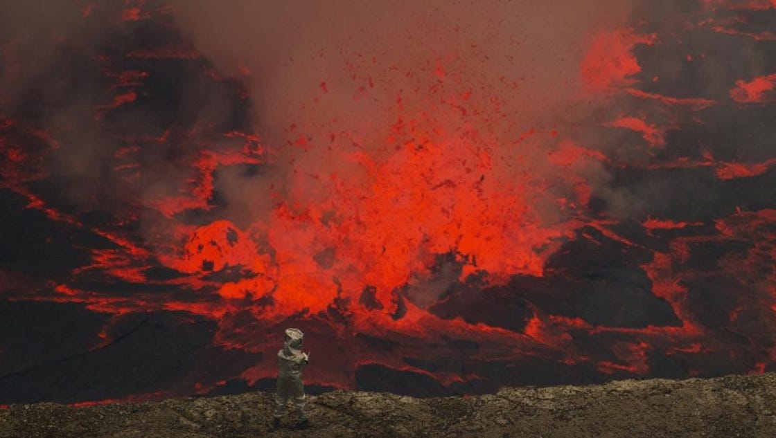 One Of Africa S Most Active Volcanoes Shows New Signs Of Life