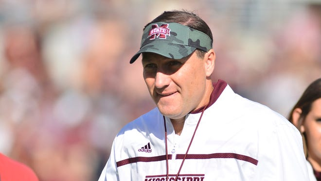 Dan Mullen and Mississippi State opens spring practice Wednesday.