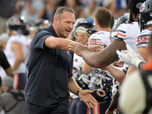 The 3 best quotes from Brian Urlacher's Hall of Fame speech