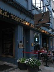 Brickwall Tavern, located on Cookman Avenue, Asbury