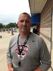 Veteran Livonia Franklin football coach Chris Kelbert
