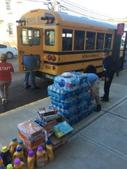 Perth Amboy has received 120 pallets of donated items