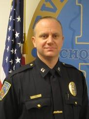 Captain Clay Schulz of Everest Metro Police Department