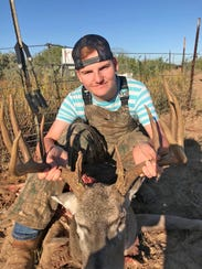 Trew Witten, 15, killed this 10-point buck while hunting