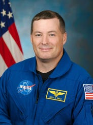 Scott Tingle, currently a part of the Expedition 54/55