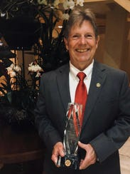 Attorney Bill Morris was awarded Rotarian of the Year.