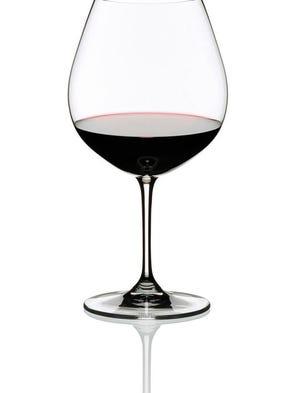 Riedel's Vinum Pinot Noir/ Burgundy wine glass.
