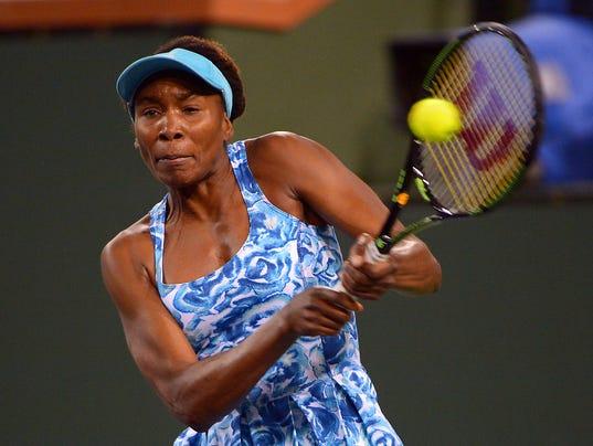 Tennis: BNP Paribas Open-Williams v Nara