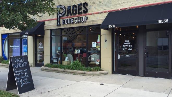 Pages Bookshop, 19560 Grand River, Detroit.