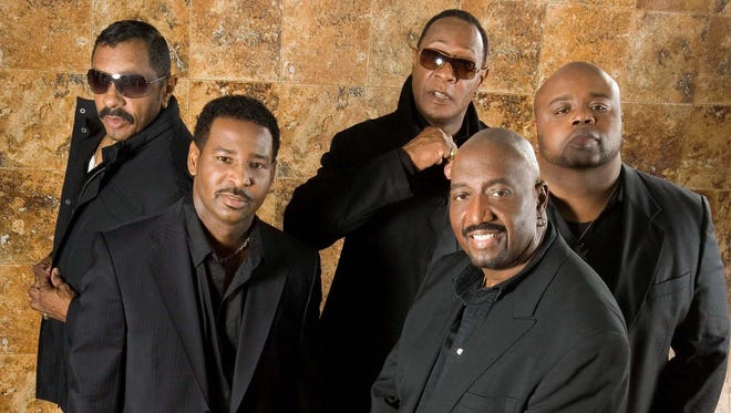 The Temptations play Biltmore Estate with Four Tops on Aug. 28.