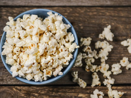 Popcorn is a whole grain and can be healthy if you