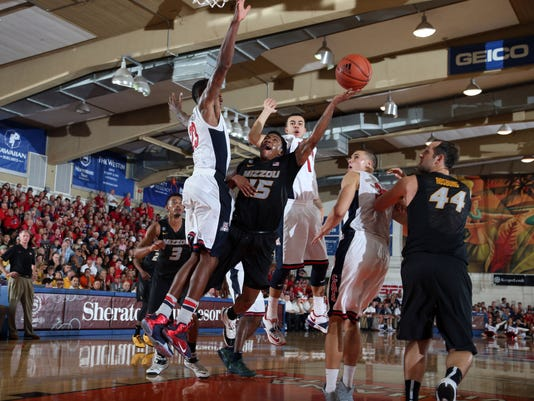 NCAA Basketball: Maui Invitational-Missouri vs Arizona