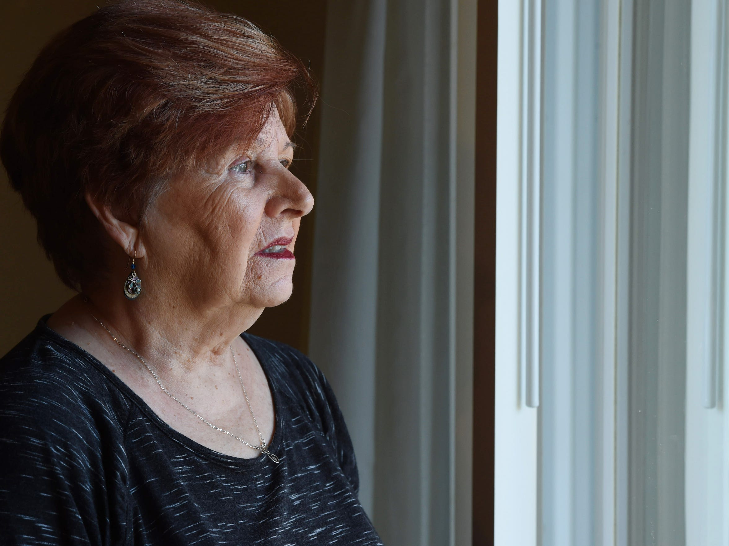 Elsa Verdichizzi, is seen in this photo inside an apartment at Rombout Village cooperative complex in the Town of Fishkill on March 29, 2017. Earlier this year, Verdichizzi's son, John Verdichizzi, was required to move out of his mother's apartment after quarreling with management of the 144-unit complex.