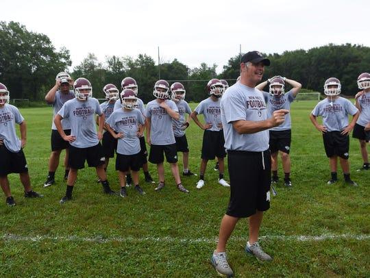 Tom Tegeler, head coach for New Paltz High School's