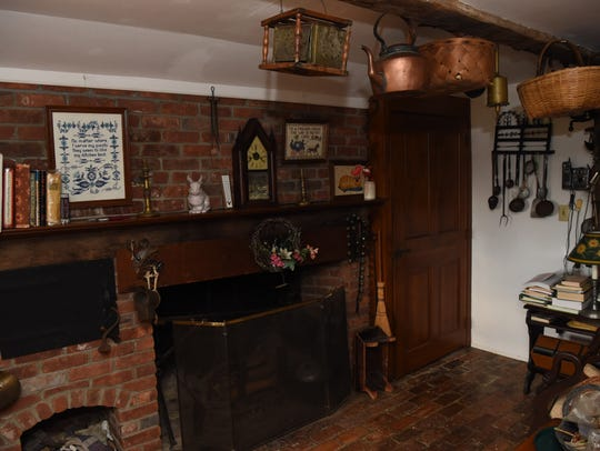 A view of Frank Doherty's kitchen in his LaGrange home,