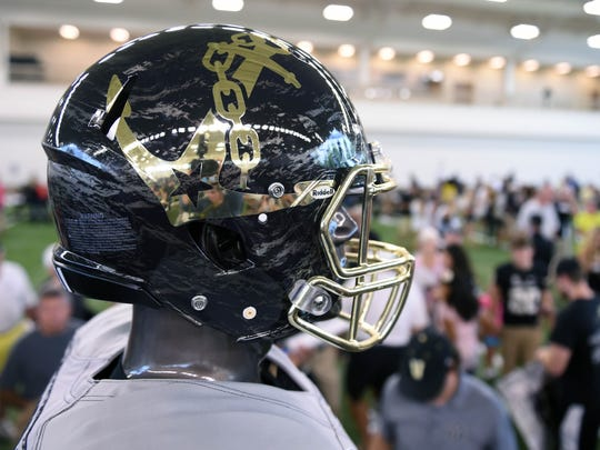 Vanderbilt football team unveiled a new uniform during f120cdb60