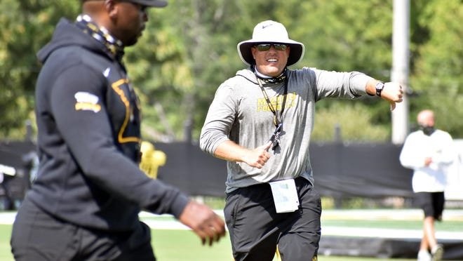 Missouri head football coach Eli Drinkwitz reported Saturday that there are seven positive cases of COVID-19 within his program, two weeks ahead of the Tigers' season opener against No. 2 Alabama.