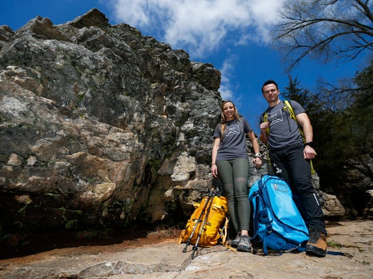 Danny and Cristina Collins started 37 North Expeditions, a guided outdoors experience business, a year ago.