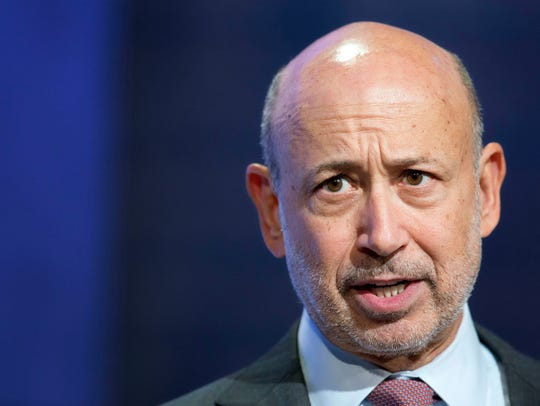 Lloyd Blankfein, Goldman Sachs' chief executive officer
