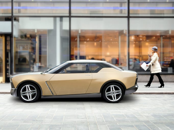 The way people are buying cars is changing. Cars are purchased as a reflection of a driver's lifestyle, so the way models are designed needs to be revolutionized. This was the thinking behind the visionary co-creation of the Nissan IDx Freeflow (pictured) and IDx NISMO concept cars, which made their first appearance in the U.S. at the 2014 North American International Auto Show in Detroit.