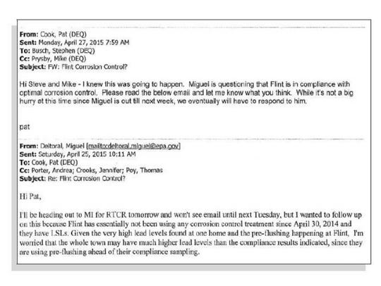 This was among the thousands of emails and other documents