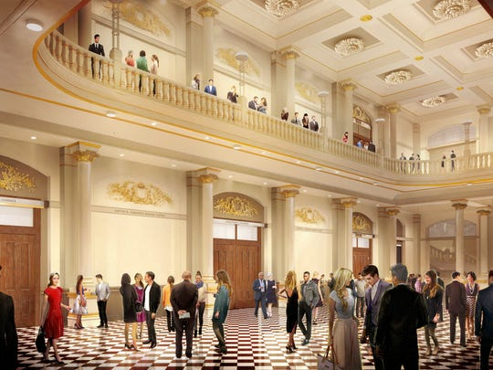 Tours will be offered when Music Hall reopens Oct.