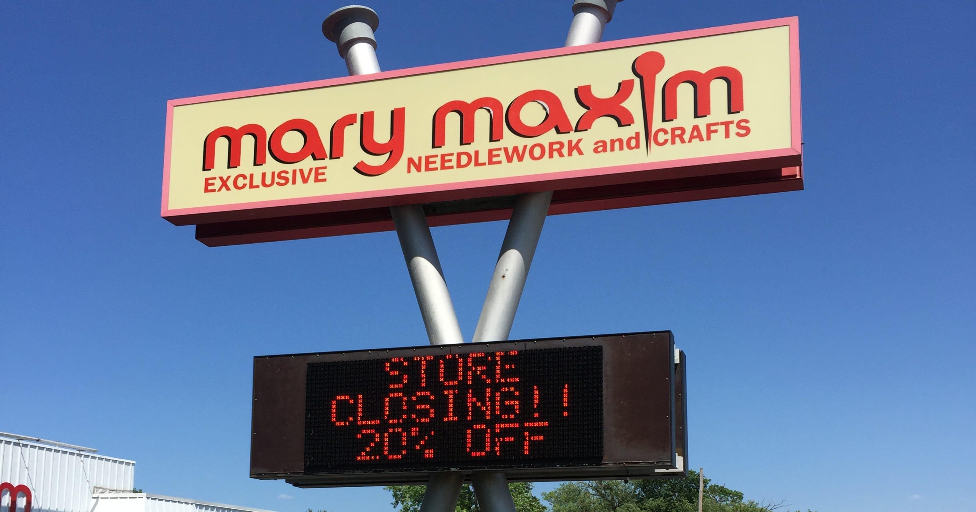 Mary Maxim closing Port Huron retail store