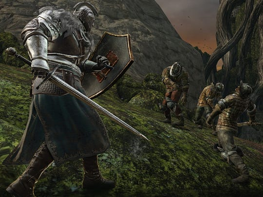 """""""Dark Souls II"""" features medieval-style action adventuring and high difficulty."""