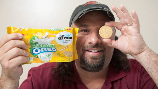 Dave Magpiong of Bellmawr, a teacher at Voorhees Middle School, is a finalist in the #MyOreoCreation contest after entering with the idea of a pina colada-flavored cookie.