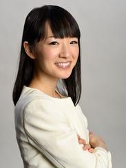 Japanese author Marie Kondo.