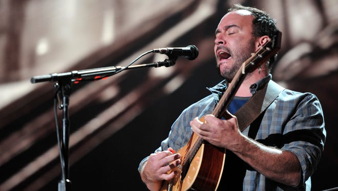 Dave Matthews performs at Farm Aid 30 in Chicago in September.
