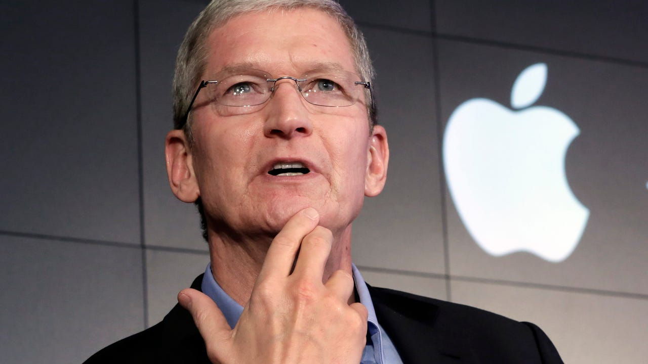 Apple CEO Tim Cook says FBI kerfuffle 'Doesn't scare Us'