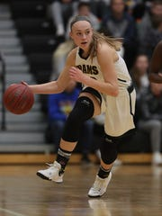 Southeast Polk's Shiloh McCool has been a steady player for the Rams for four seasons. Reese Strickland/For the Register