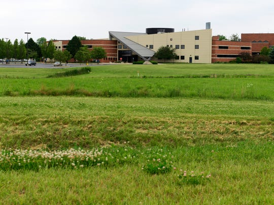 The future site of Terra Village, a 200-room dorm for Terra State Community College students.