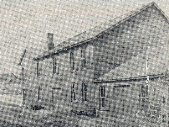 This is the Gerbig and Son Soap Factory on West Washington Street in Chambersburg during the 1890s.
