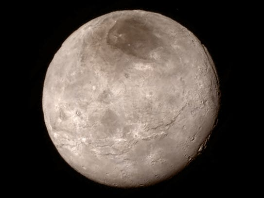 NASA received photos of Pluto's moon Charon soon after