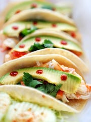 One of the specials at the new Las Tortugas worth keeping an eye out for is the king crab taco or tortugas (sandwich) with a generous helping of crab, chipo-mayo sauce, cilantro, avacado, and a dab of chipotle.