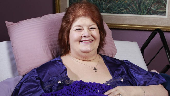 Darlene Cates at her home in Forney, Texas, in July 2012.