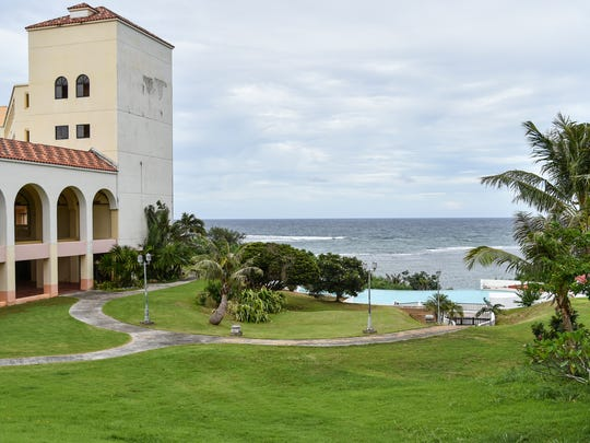 A tour of the Redemptoris Mater Seminary in Yona on Oct. 13, 2016, reveals hotel-style accommodations and views, combined with facilities for worship and study.