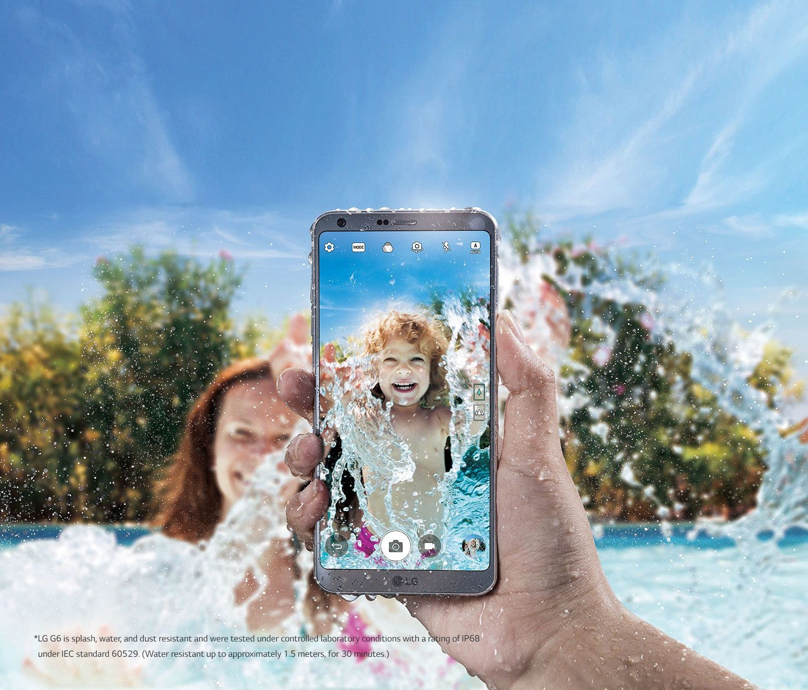 Taking photos outside – and seeing what you're capturing – could be a challenge. Bump up the brightness on your phone to combat the sun's shining rays.