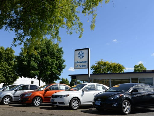 Salem dealerships 39 move to parkway leaves lots vacant for Lithia motors medford oregon