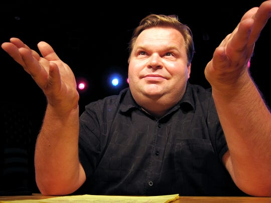 "Mike Daisey performs his monologue ""Khan & the Whale"" twice next week at FlynnSpace."