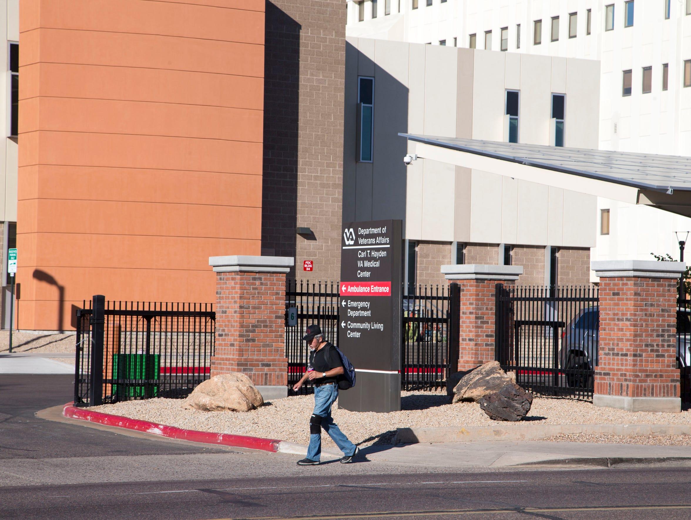 Carl T Hayden VA Medical Center on Oct. 22, 2014. Inspectors