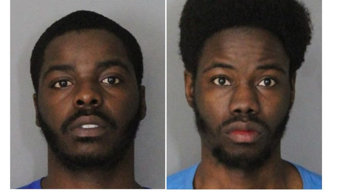 Isaiah Cheeks, 22, and Malcom Cheeks, 21, both of New Castle, face gun and drugs charges.